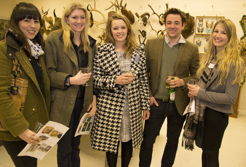 Emma Dennis of Agrii with Lucinda Evans of Strutt & Parker Ellie Parsons of Emma Willis Dan Smith of Dan Smith Groundworks and Katy Sainsbury of ALP Architects