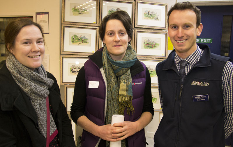 Esther Thackery of Charles Russell Speechlys with Siobhan Ferris of The National Trust and Stuart Milsom of Moore Allen & Innocent