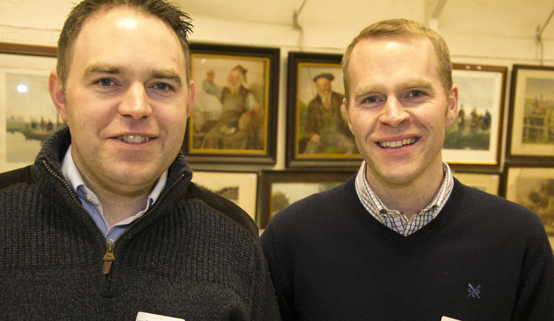 Ian and Neil Golding of Goldings Surveyors
