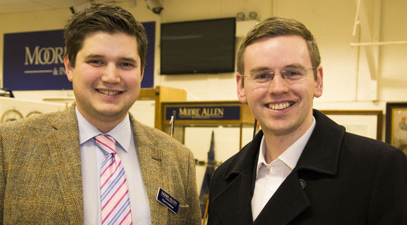 Piers Critchlow of Moore Allen & Innocent with Iwan Williams of Charles Russell Speechlys
