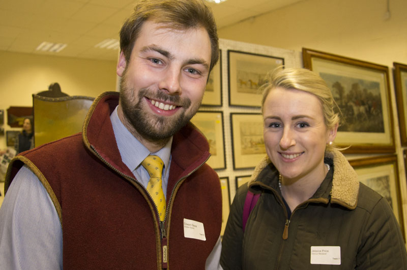 Ted Beale of Sheldon Bosley with Jessica Price of Dalcour Maclaren